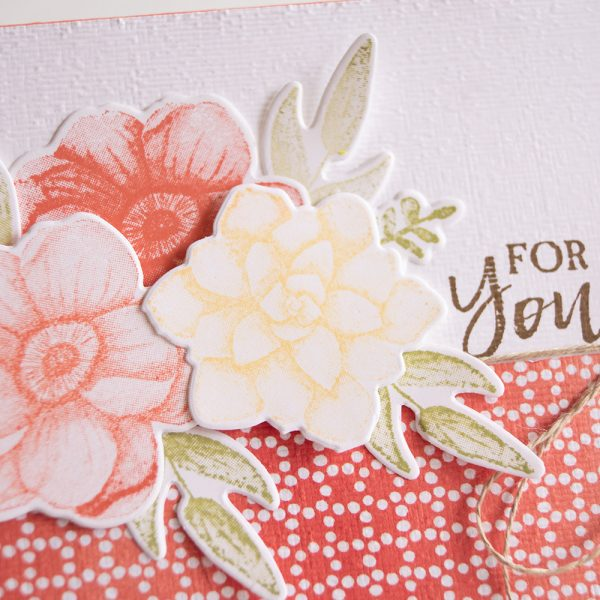 By Teneale Williams   Stampin' Up! Card featuring Sale-a-bration Painted Seasons