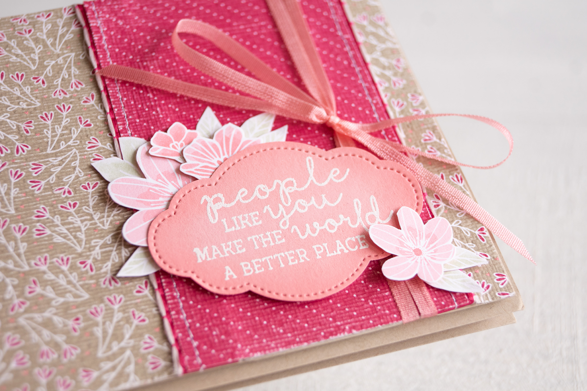 By Teneale Williams   All My Love Designer Series Paper and Needle & Thread Photopolymer Bundle from Stampin' Up!