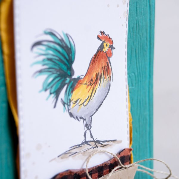 Card by Teneale Williams   Home To Roost Stamp Set, Sale-A-Bration 2019   STampin'Up! Blends