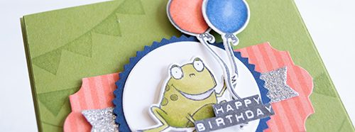 "By Teneale Williams | Blow Out The Candles and So Hoppy Together Stampin""Up!"