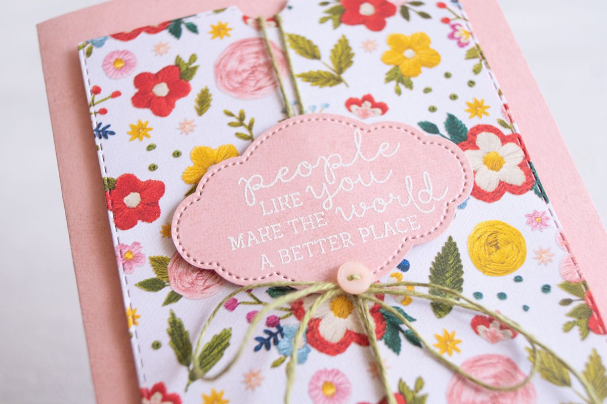 By Teneale Williams | Needle & Thread Stamp Set