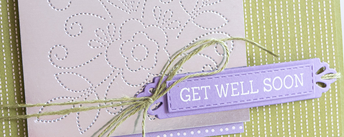 By Teneale Williams | Needle & Thread product suite from Stampin' Up!