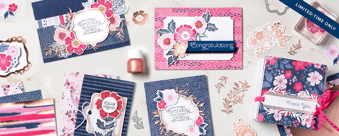 Teneale Williams | Stampin' Up! Australia | Everything Is Rosy