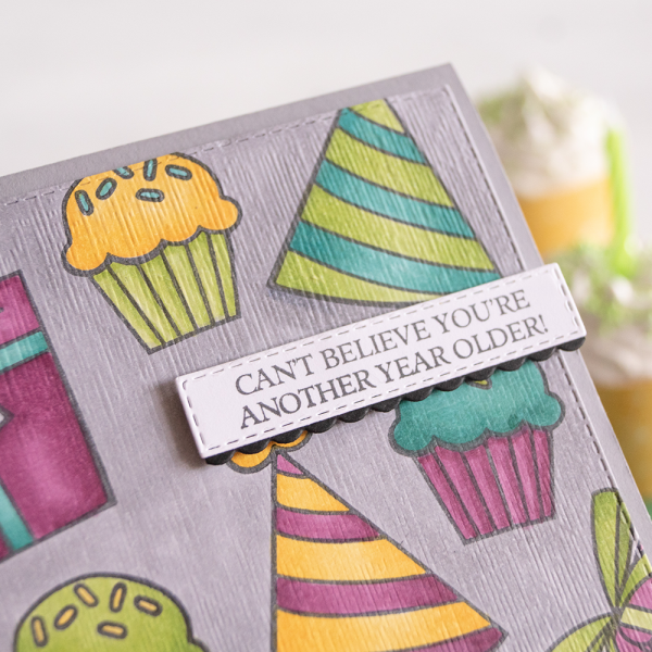 By Teneale Williams | Stampin' Up! Birthday Cheer Cling Stamp Set | Fun kids birthday card