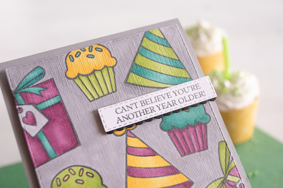 By Teneale Williams   Stampin' Up! Birthday Cheer Cling Stamp Set   Fun kids birthday card