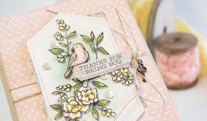 By Teneale Williams | Free As a Bird Suite From Stampin' Up!