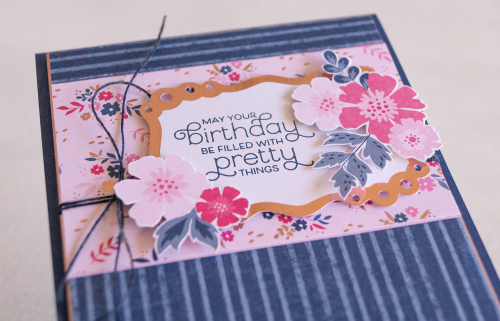 By Teneale Williams | Stampin' Up everything Is Rosy Product Medley