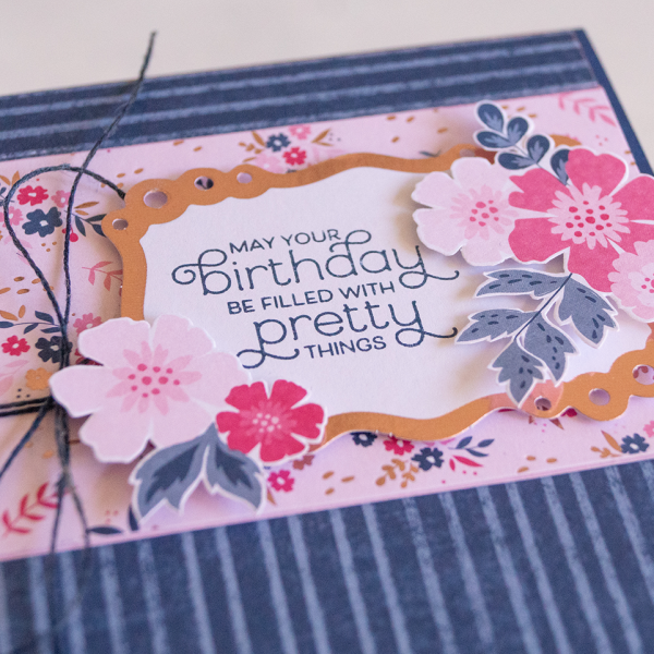 By Teneale Williams | Stampin' Up verything Is Rosy Product Medley