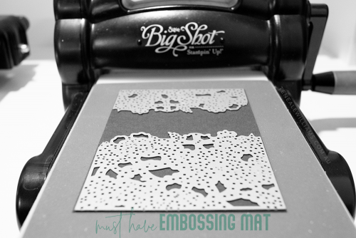 Teneale Williams | Detailed Floral Thinlits Dies with Big Shot Embossing Mats