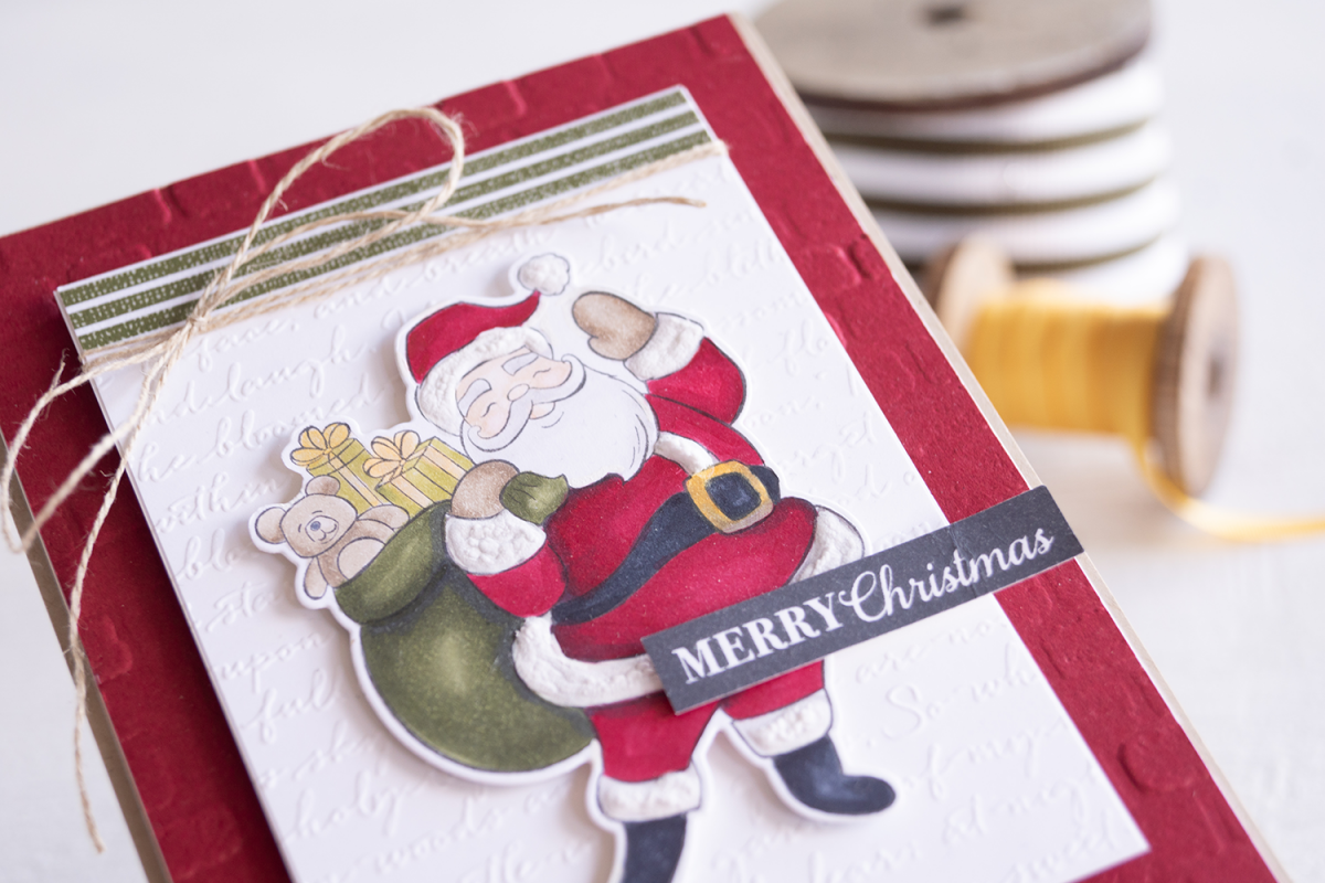 Holly Jolly Christmas Bundle from Stampin Up Australia card created by Teneale Williams