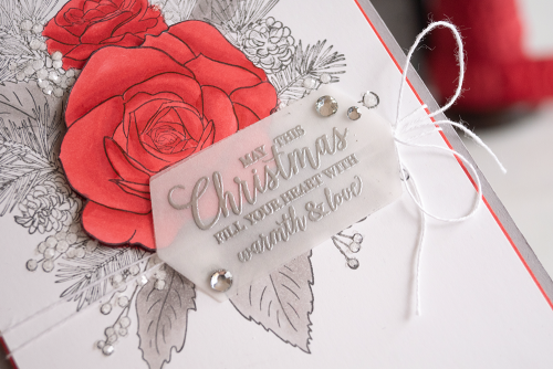 Christmas Rose Stamp Set from Stampin Up card by Teneale Williams