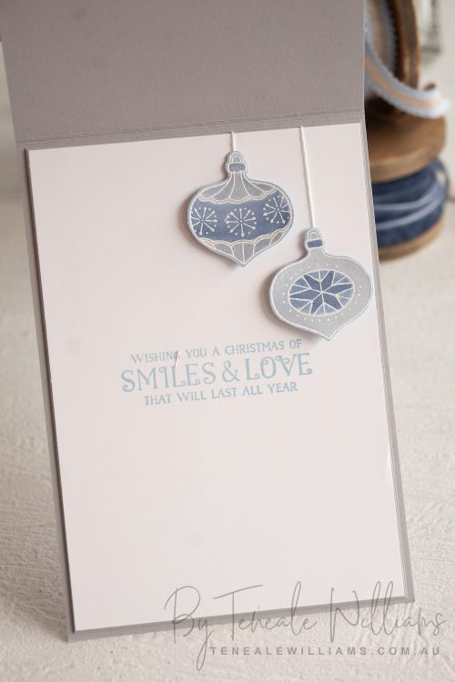 Teneale Williams Stampin Up Watercolour Memories Of Home Cling Stamp Set