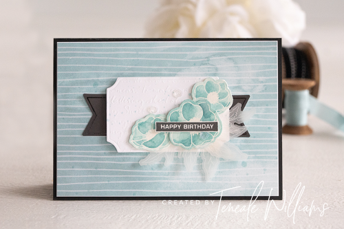 By Teneale Williams Peaceful Poppies Elements from Stampin Up