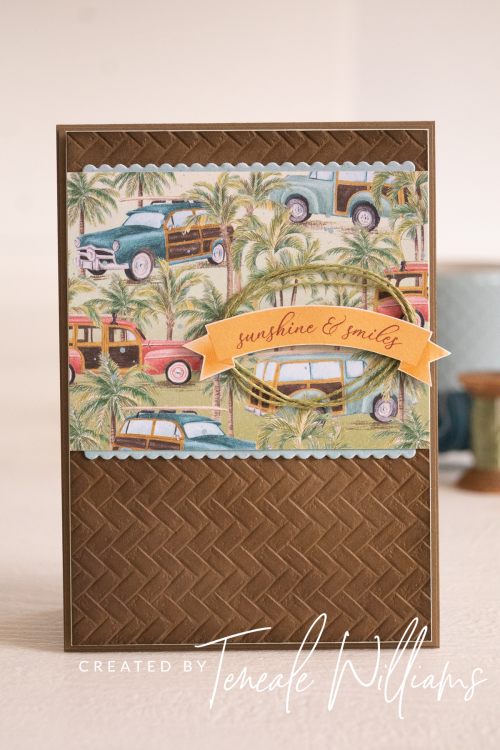 Tropical Oasis by Teneale Williams Stampin up Memories & More Card Pack