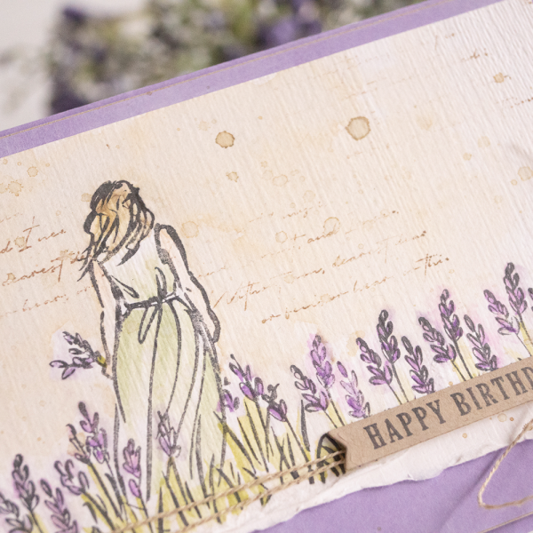 By Teneale Williams card using Beautiful Moments Stamp Set from Stampin up vintage watercolour