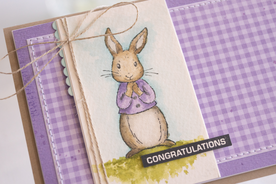Card by Teneale Williams Fable Friends Stamp Set from Stampin Up