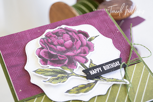 By Teneale Williams Prized Peony Stampin Up