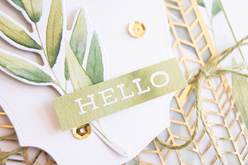 Teneale-Williams-Stampin-up-forever-gold-laser-cut-and-forever-greenery-designer-series-paper