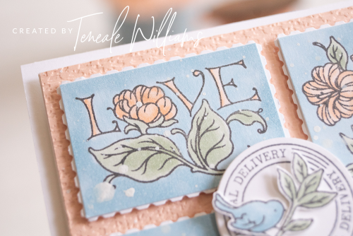 By-Teneale-Williams-Stampin-up-posted-for-you-stamp-set-with-rectangular-postage-stamp-punch-postage-mark-coloured-with-Stampin-Blends-love