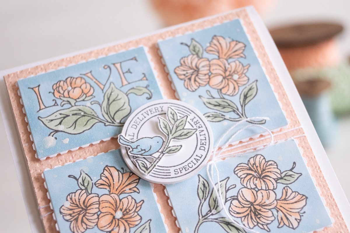 By-Teneale-Williams-Stampin-up-posted-for-you-stamp-set-with-rectangular-postage-stamp-punch-card-idea