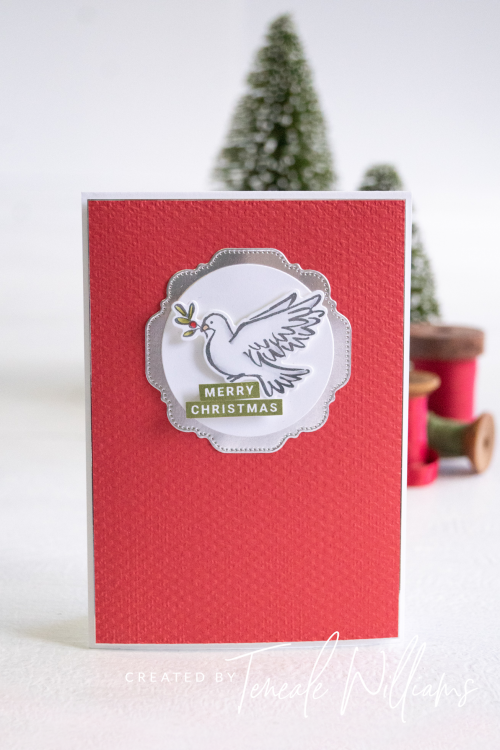 By Teneale Williams Dove of Hope stamp set from Stampin up