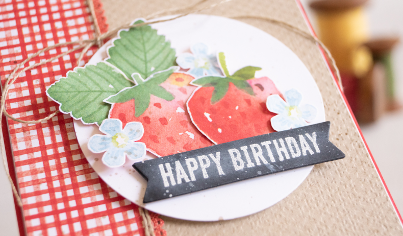 By Teneale Williams Berry delightful stampin up