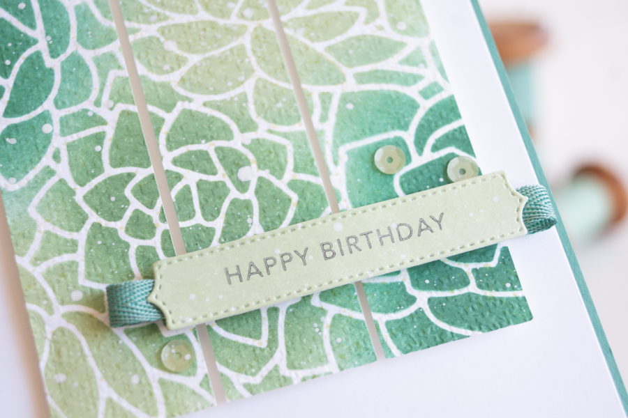 By Teneale Williams potted-succulents card from Stampin Up