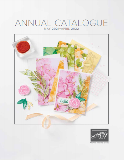 Stampin' Up! 2021 - 2022 Annual Catalogue