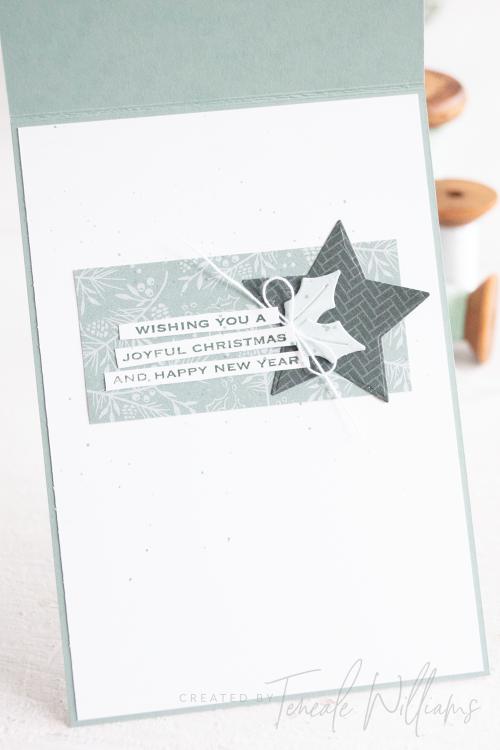By Teneale Williams tidings-trimmings-bundle-stampin up-star christmas card-elegant