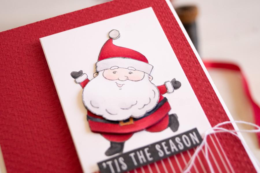 Teneale_Williams_Be_Jolly_Stamp_set_Stampin_Up_Australia_Western_sydney_demo_CHristmas_card_Santa_Fun_cute