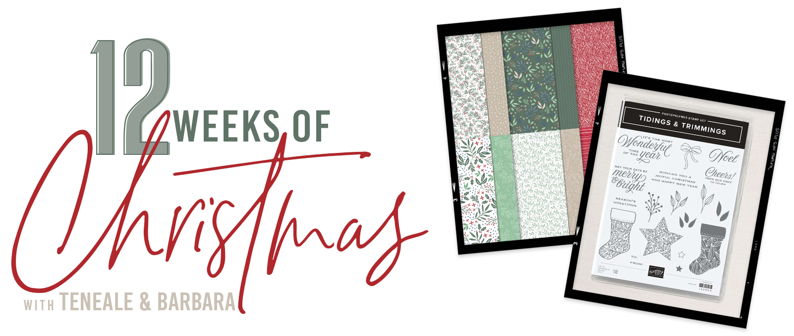 12 Weeks of Christmas with Teneale and Barbara